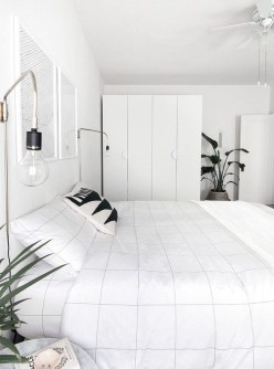 Minimalist Scandinavian Bedroom Decor Ideas 43