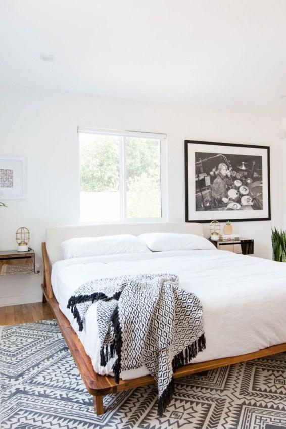 Minimalist Scandinavian Bedroom Decor Ideas 48