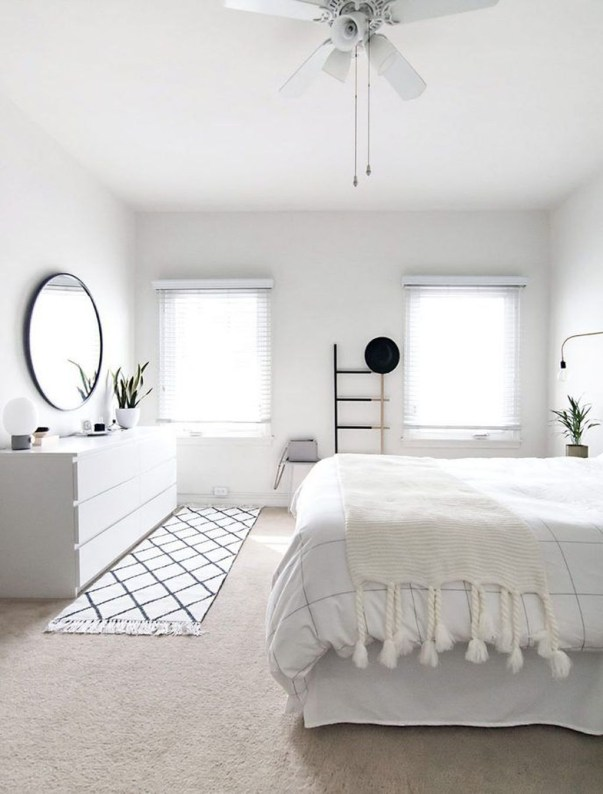 Minimalist Scandinavian Bedroom Decor Ideas 50