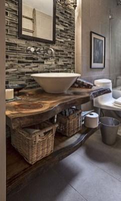 Perfect Rustic Farmhouse Bathroom Design Ideas 34