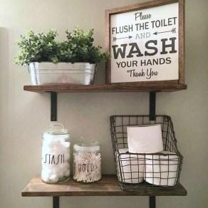 Perfect Rustic Farmhouse Bathroom Design Ideas 37