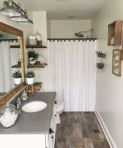 Perfect Rustic Farmhouse Bathroom Design Ideas 39