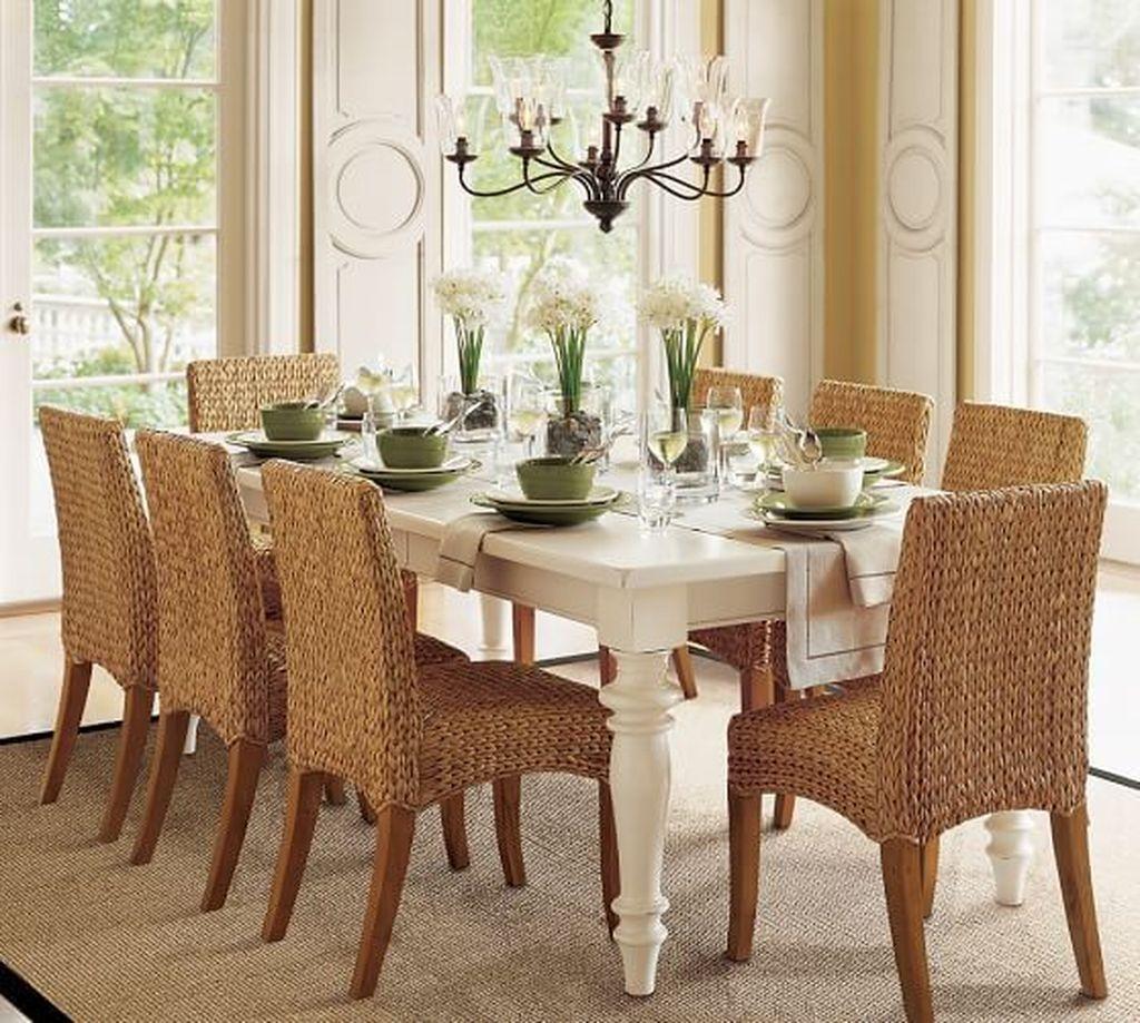 Popular Summer Dining Room Design Ideas 04
