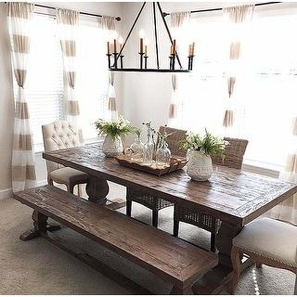 Popular Summer Dining Room Design Ideas 09