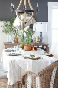 Popular Summer Dining Room Design Ideas 19