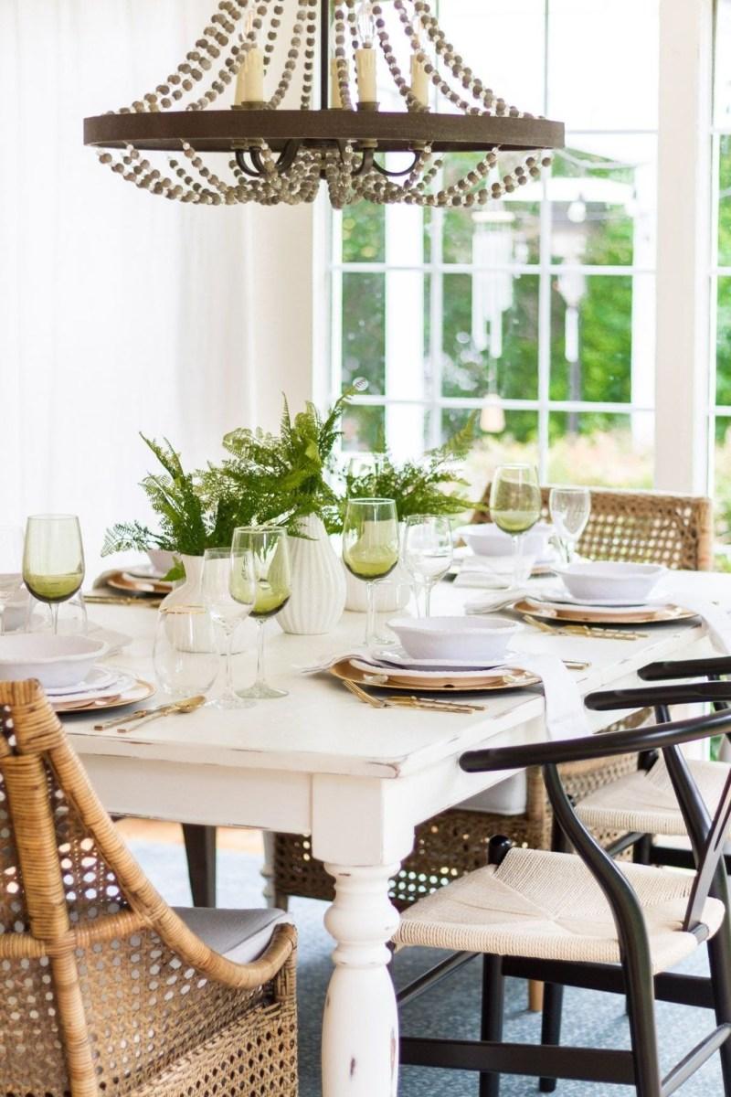 Popular Summer Dining Room Design Ideas 22