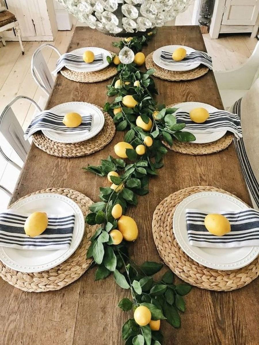 Popular Summer Dining Room Design Ideas 41