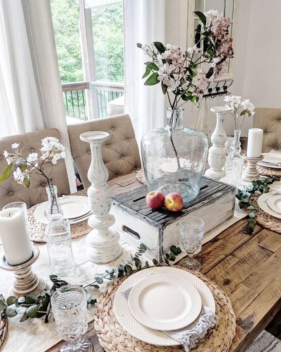 Popular Summer Dining Room Design Ideas 45