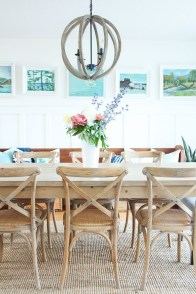 Popular Summer Dining Room Design Ideas 46