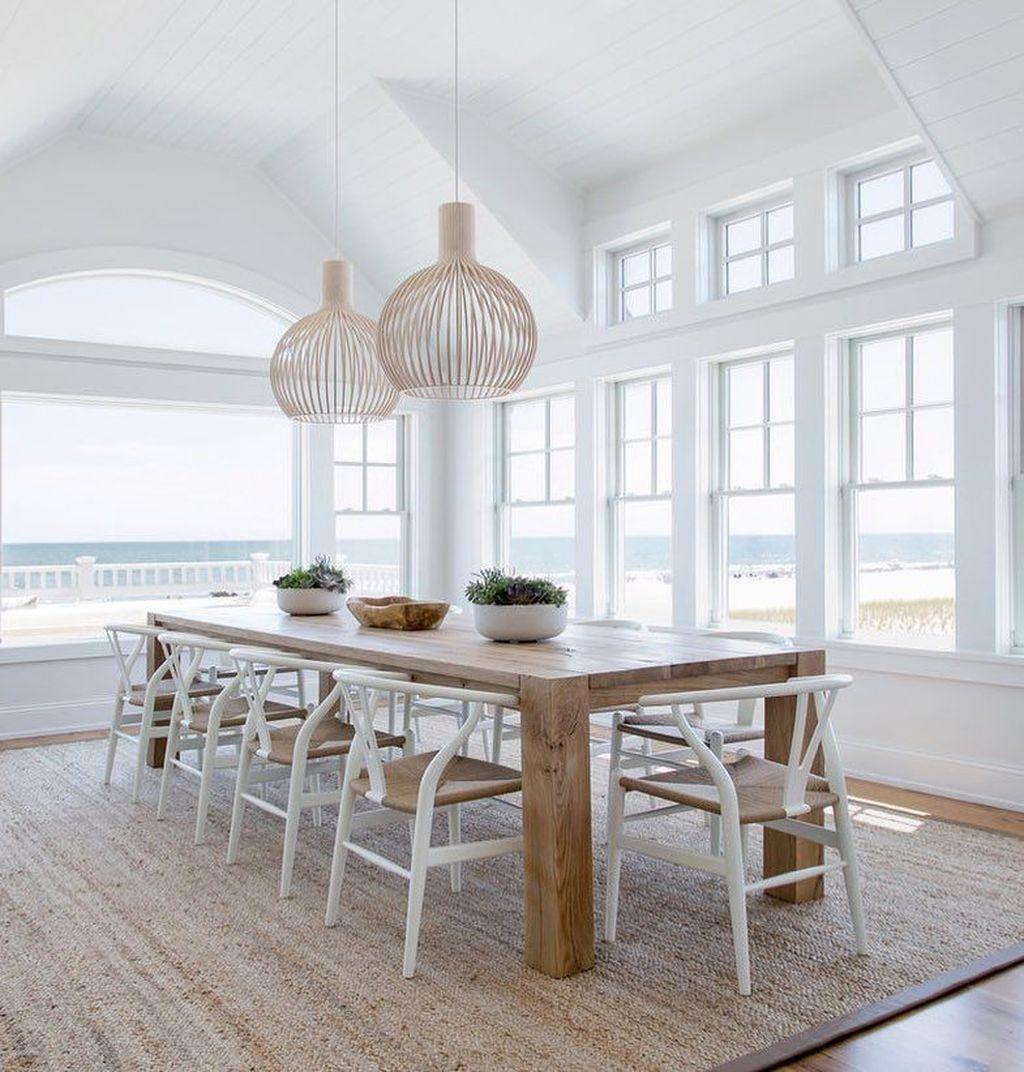 Popular Summer Dining Room Design Ideas 47