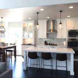 The Best Lighting In Neutral Kitchen Design Ideas 04