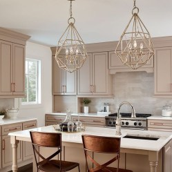 The Best Lighting In Neutral Kitchen Design Ideas 05