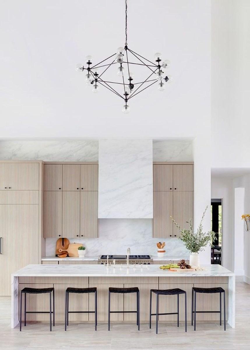 The Best Lighting In Neutral Kitchen Design Ideas 11