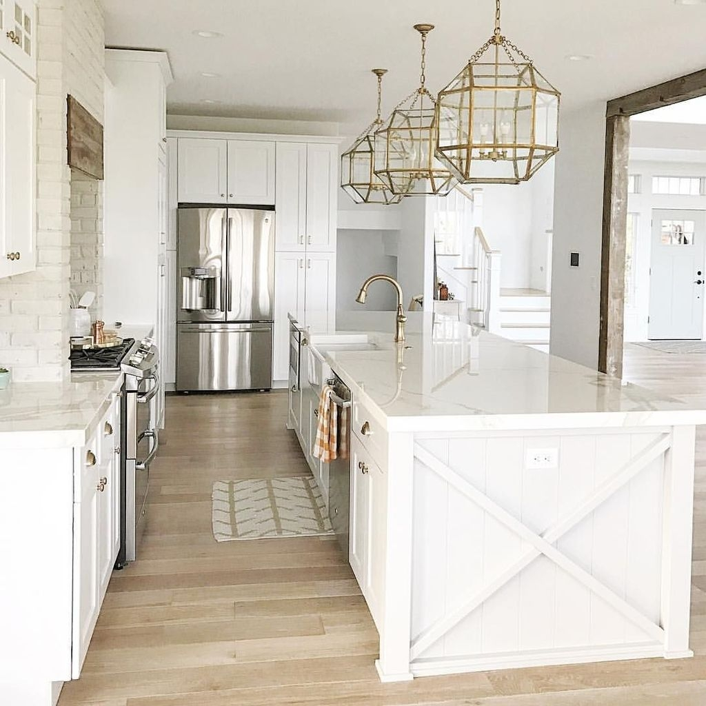 The Best Lighting In Neutral Kitchen Design Ideas 25
