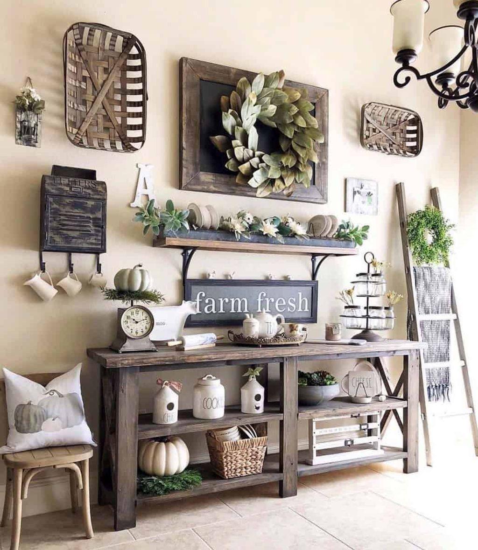 Admirable Farmhouse Living Room Decor Ideas 01