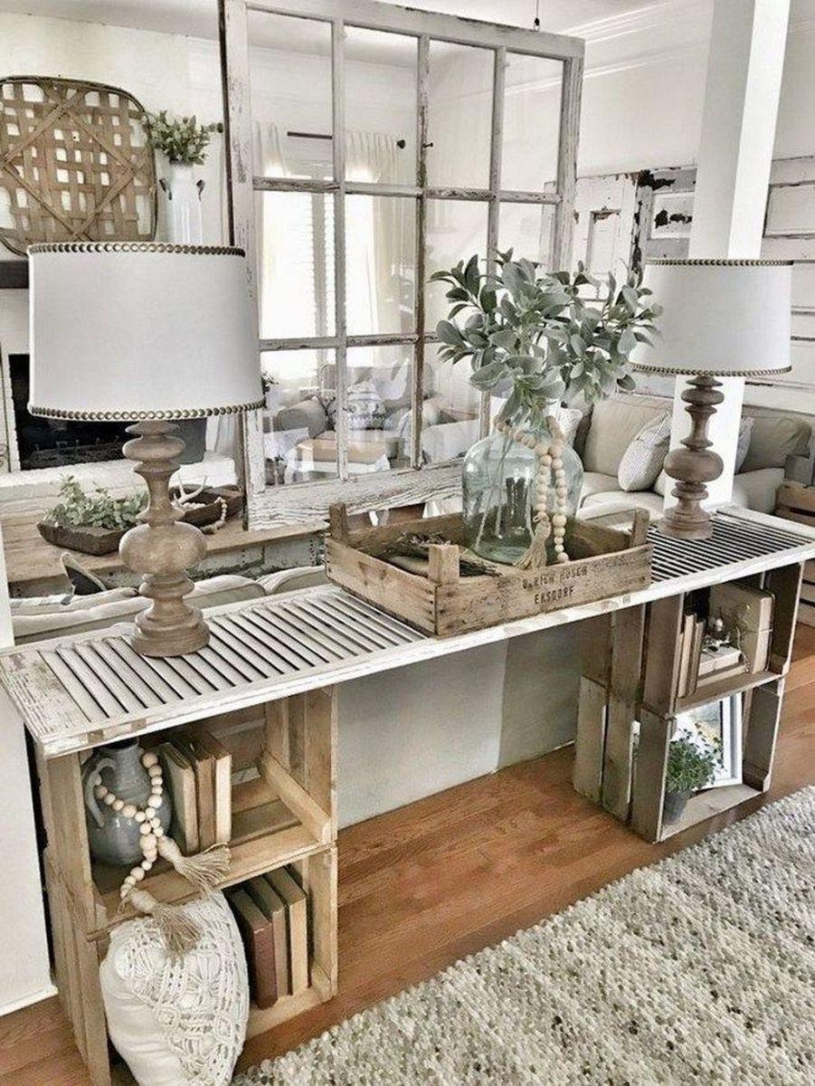 Admirable Farmhouse Living Room Decor Ideas 04