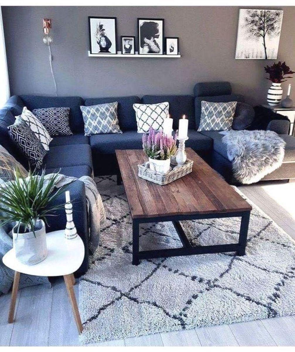 Admirable Farmhouse Living Room Decor Ideas 22