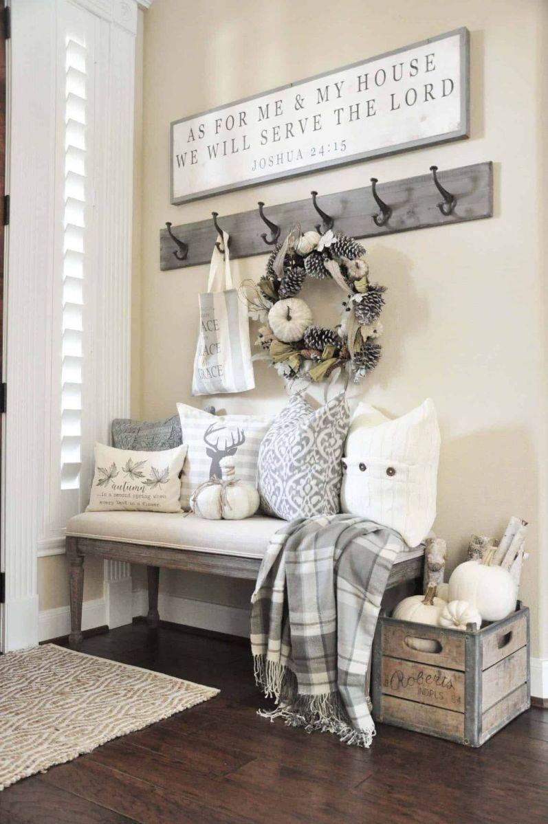 Admirable Farmhouse Living Room Decor Ideas 25