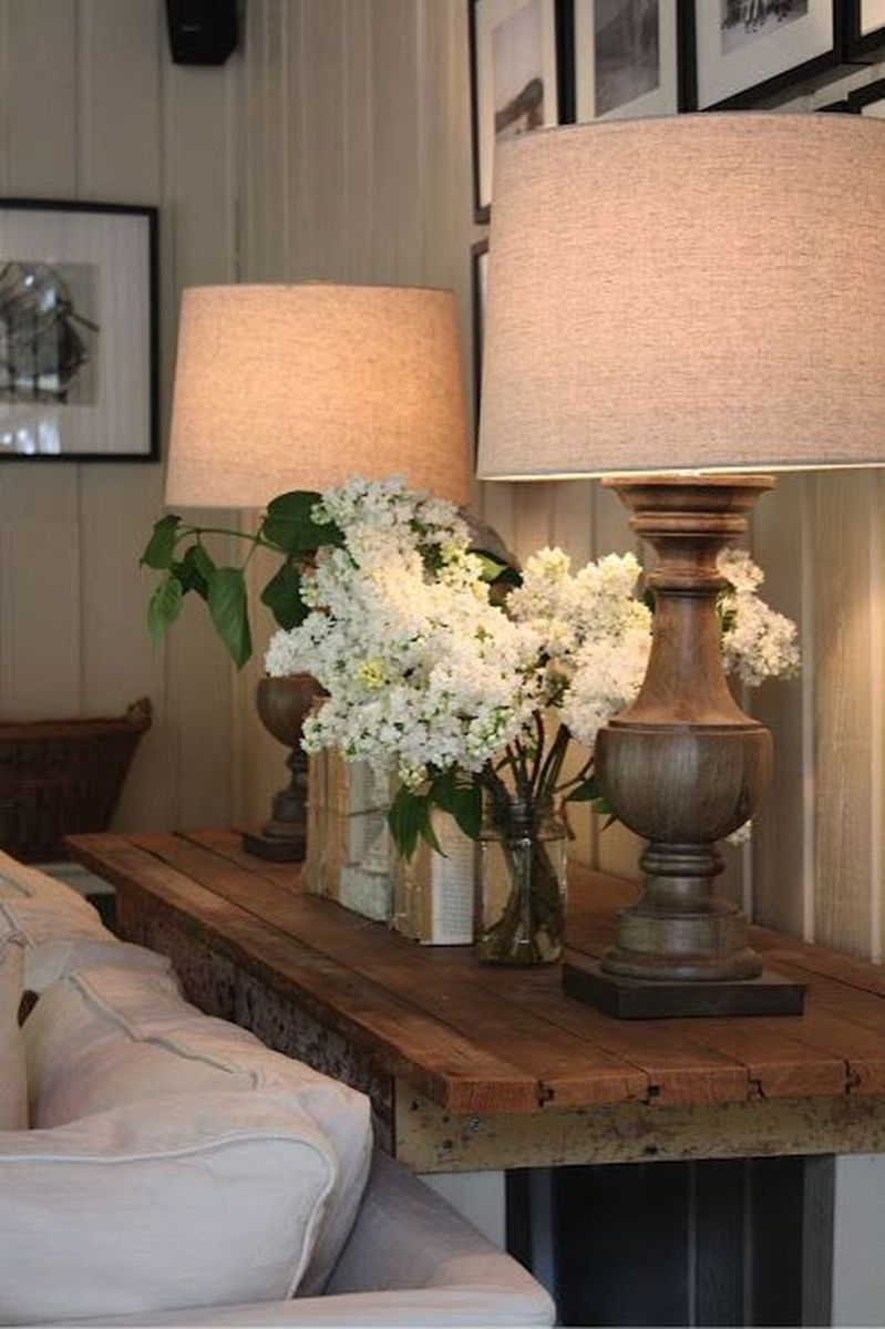 Amazing Sofa Table Decor Ideas You Should Try 01