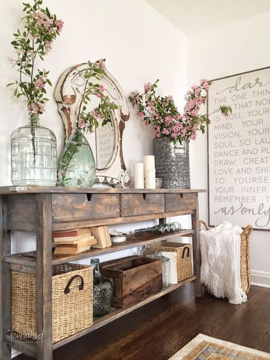 Amazing Sofa Table Decor Ideas You Should Try 05