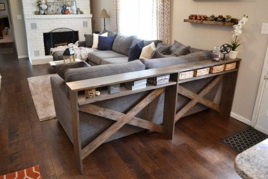 Amazing Sofa Table Decor Ideas You Should Try 12