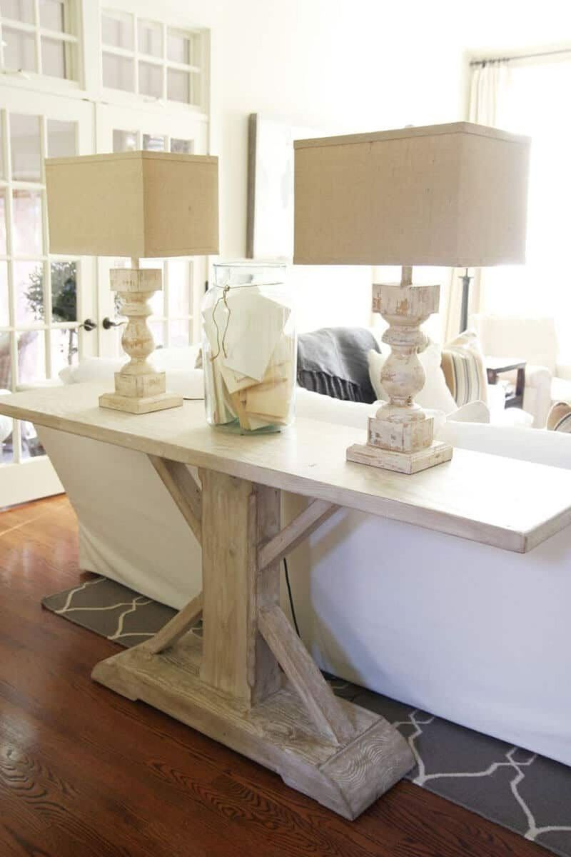 Amazing Sofa Table Decor Ideas You Should Try 13