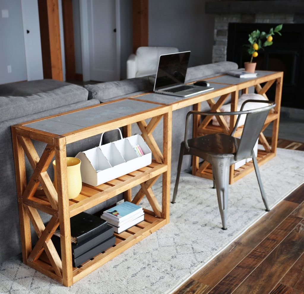 Amazing Sofa Table Decor Ideas You Should Try 27