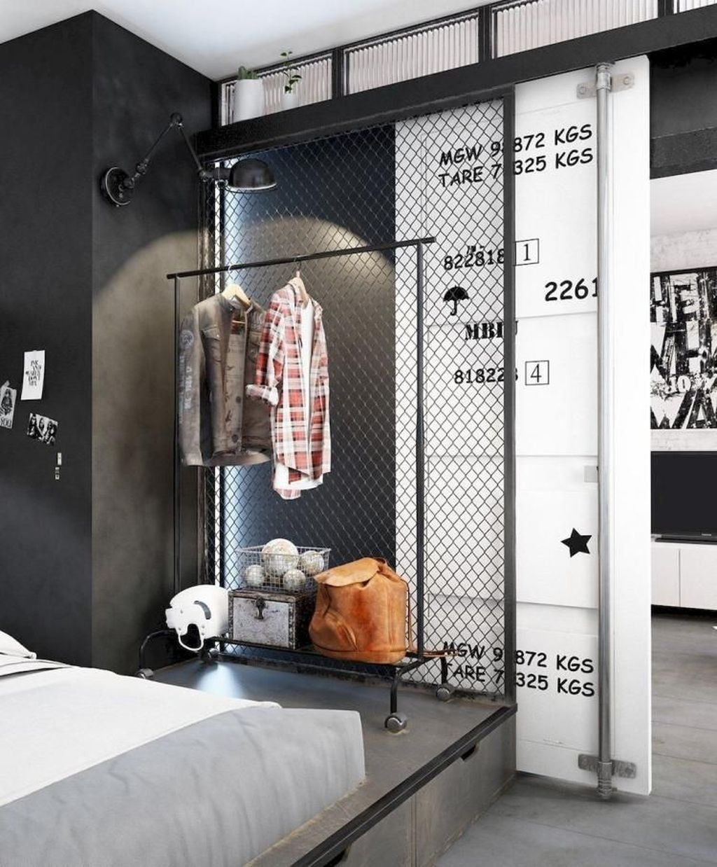 Awesome Loft Apartment Decorating Ideas 02