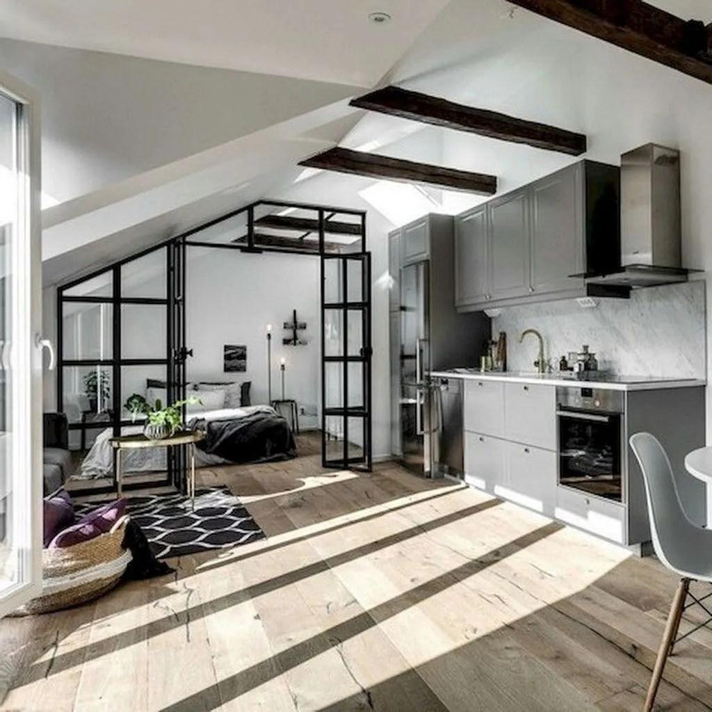 Awesome Loft Apartment Decorating Ideas 09