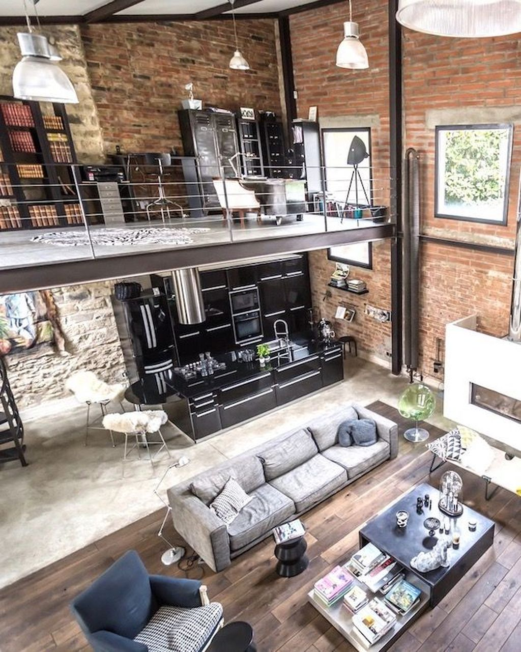 Awesome Loft Apartment Decorating Ideas 23