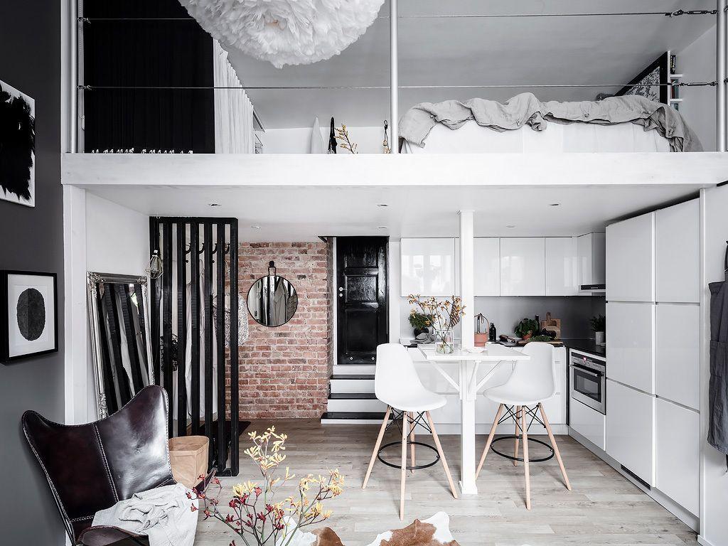 Awesome Loft Apartment Decorating Ideas 30