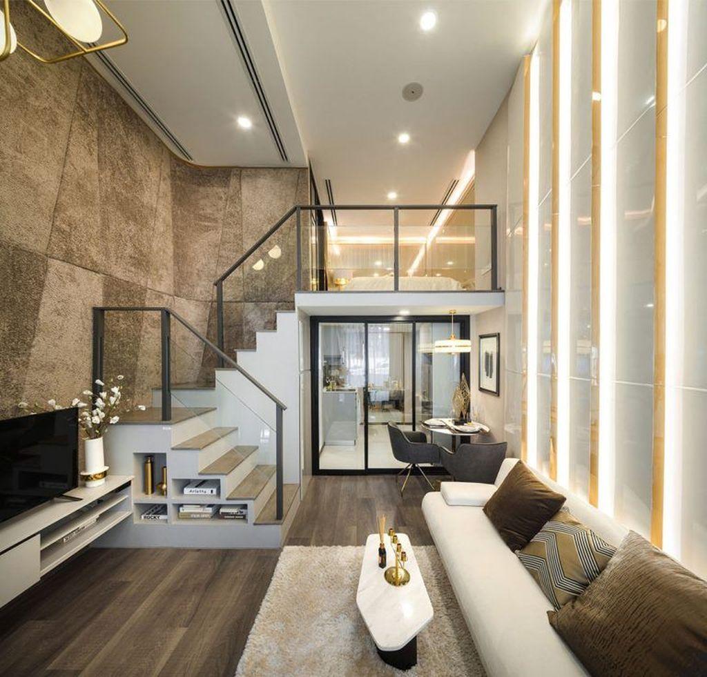 Awesome Loft Apartment Decorating Ideas 35