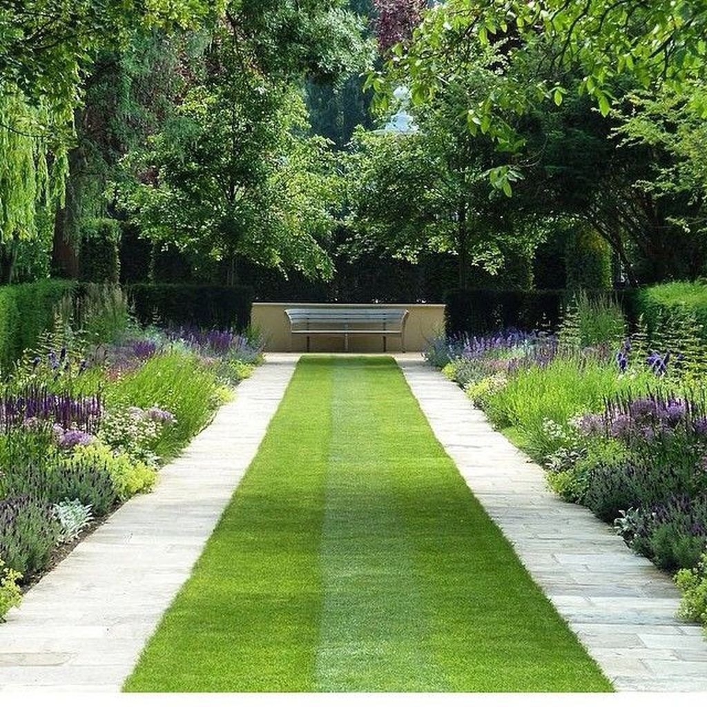 Beautiful Formal Garden Design Ideas 26