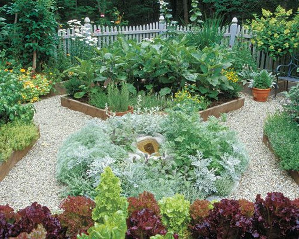 Beautiful Formal Garden Design Ideas 29