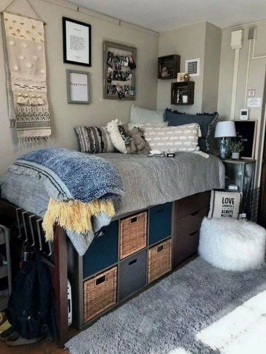 Cool Dorm Room Ideas To Maximize Your Space 22