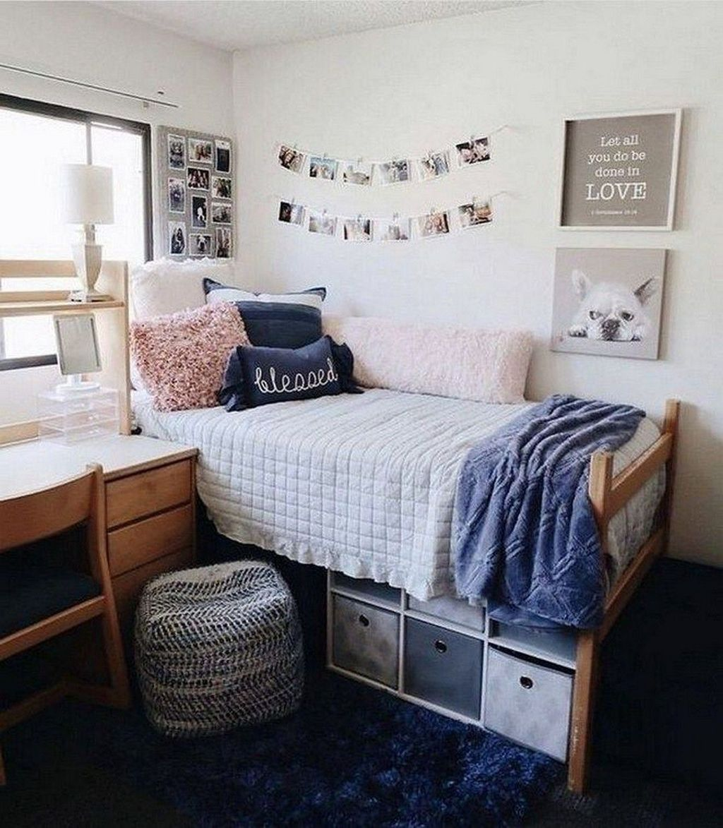 Cool Dorm Room Ideas To Maximize Your Space 30