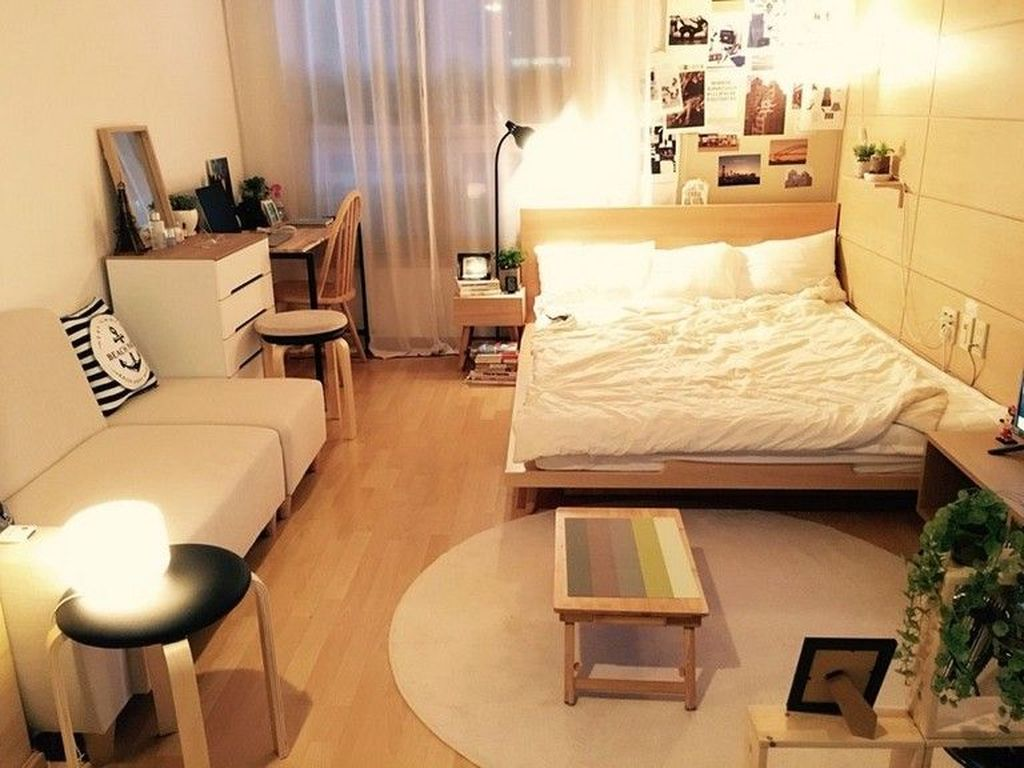 Cool Studio Apartment Ideas You Never Seen Before 28