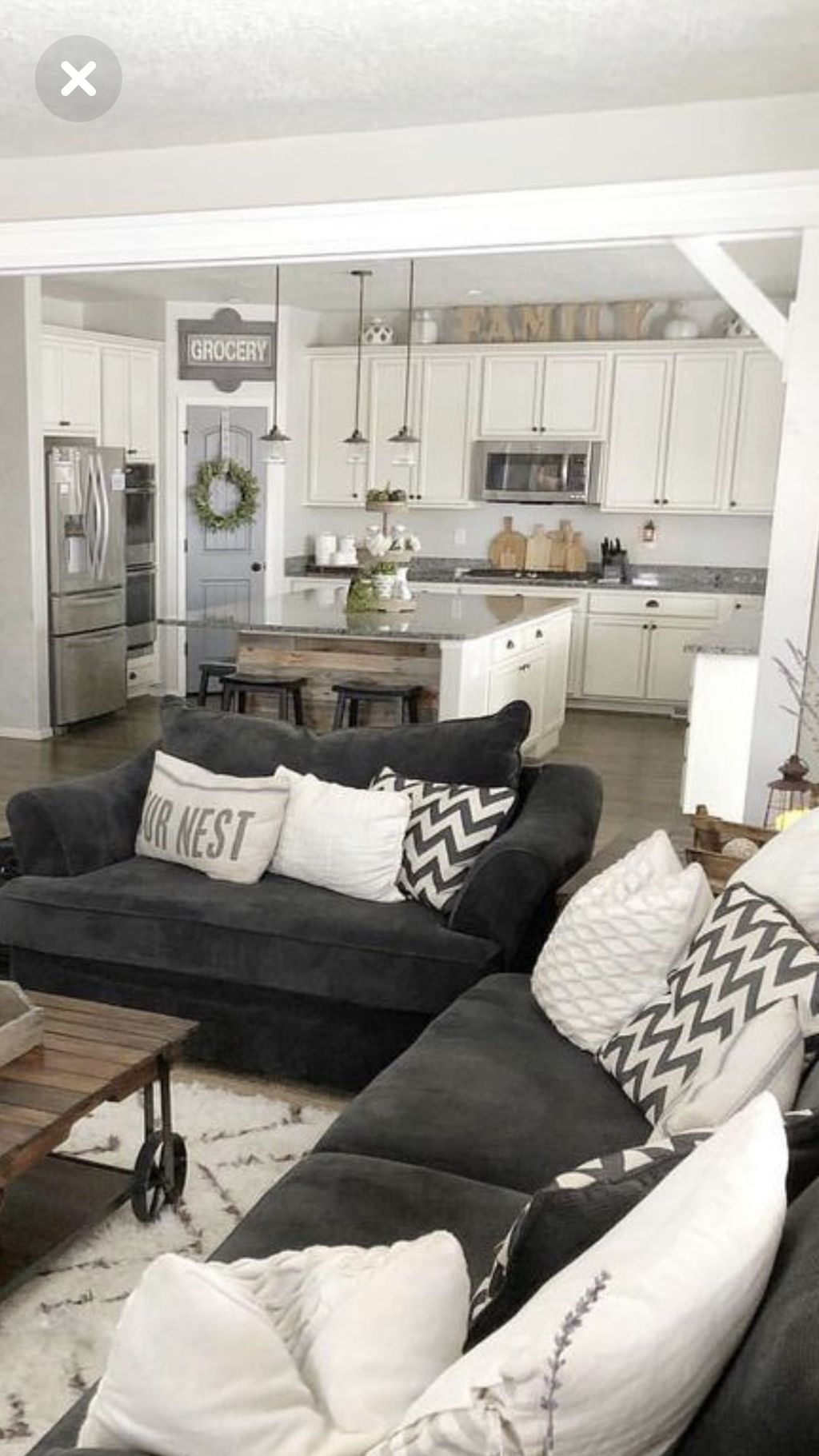 Fabulous Country Living Room Designs Ideas You Will Love 13