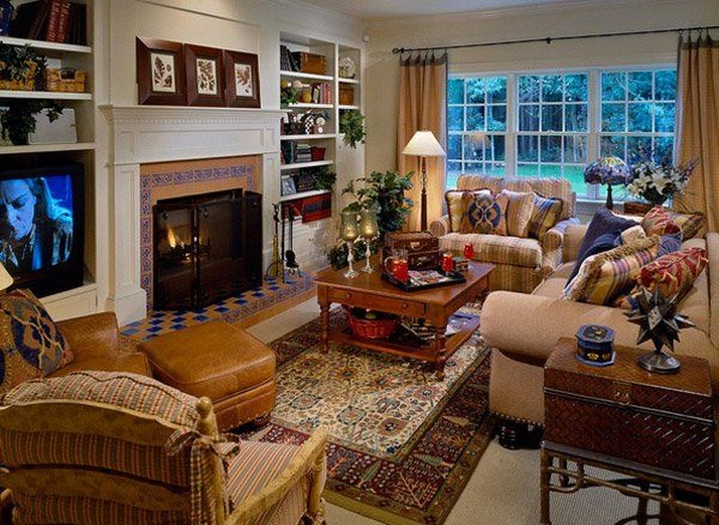 Fabulous Country Living Room Designs Ideas You Will Love 14