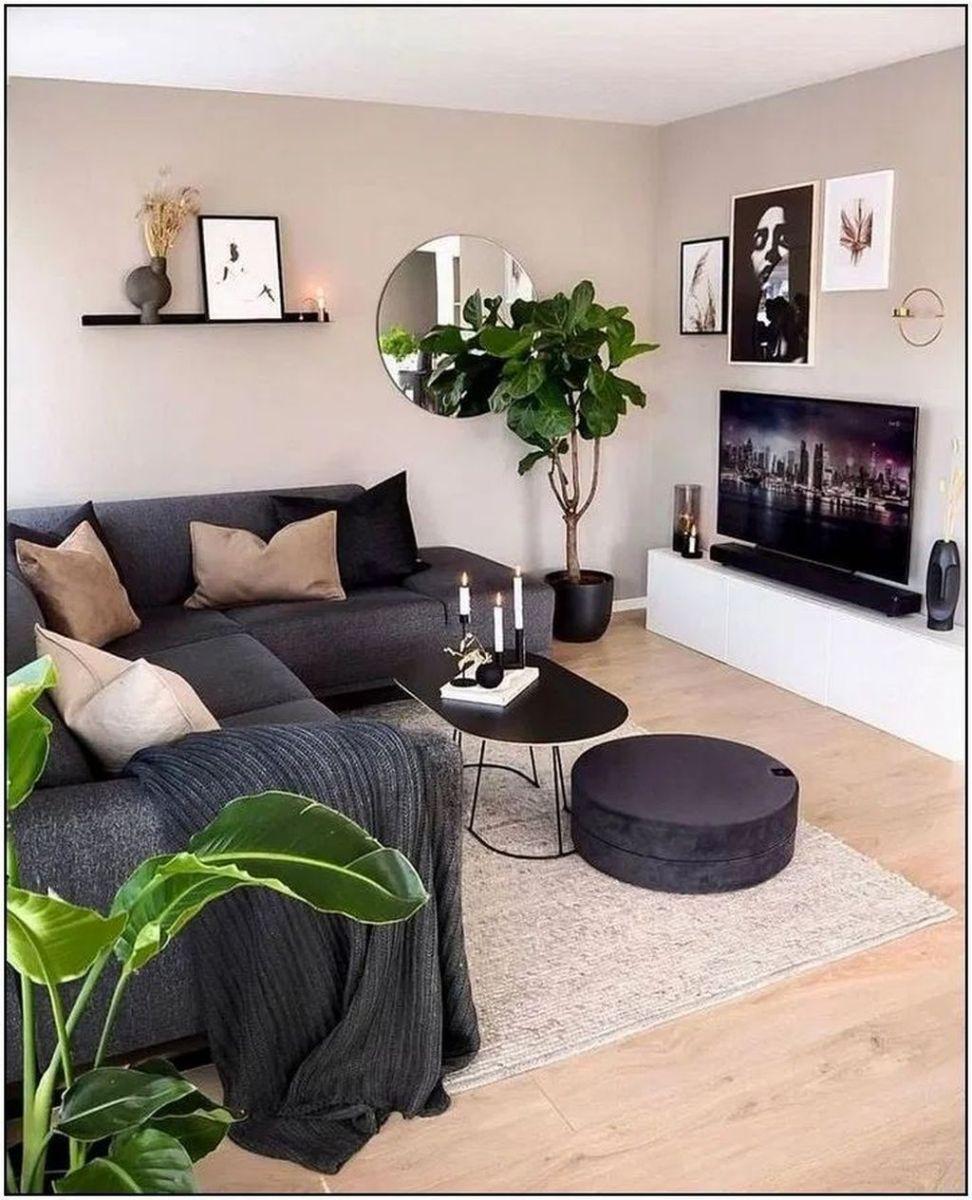 Fascinating Small Apartment Living Room Decor Ideas 25