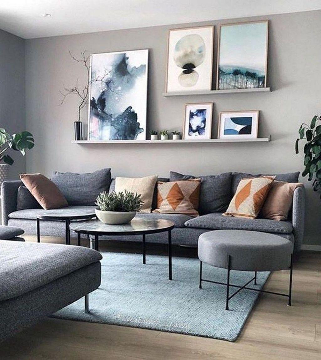 Fascinating Small Apartment Living Room Decor Ideas 26