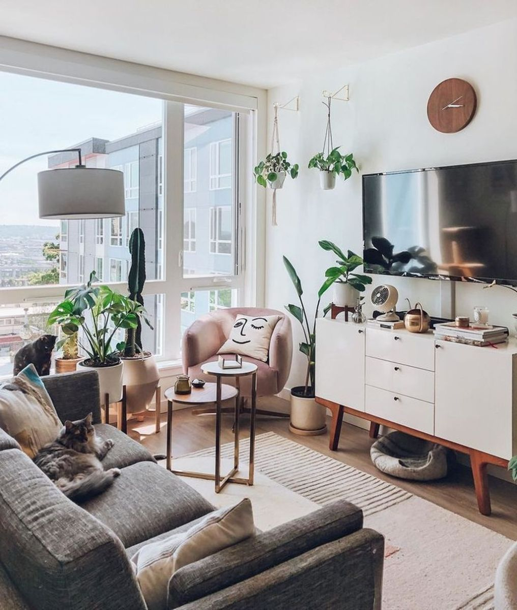 Fascinating Small Living Room Cabinet Design Ideas 03