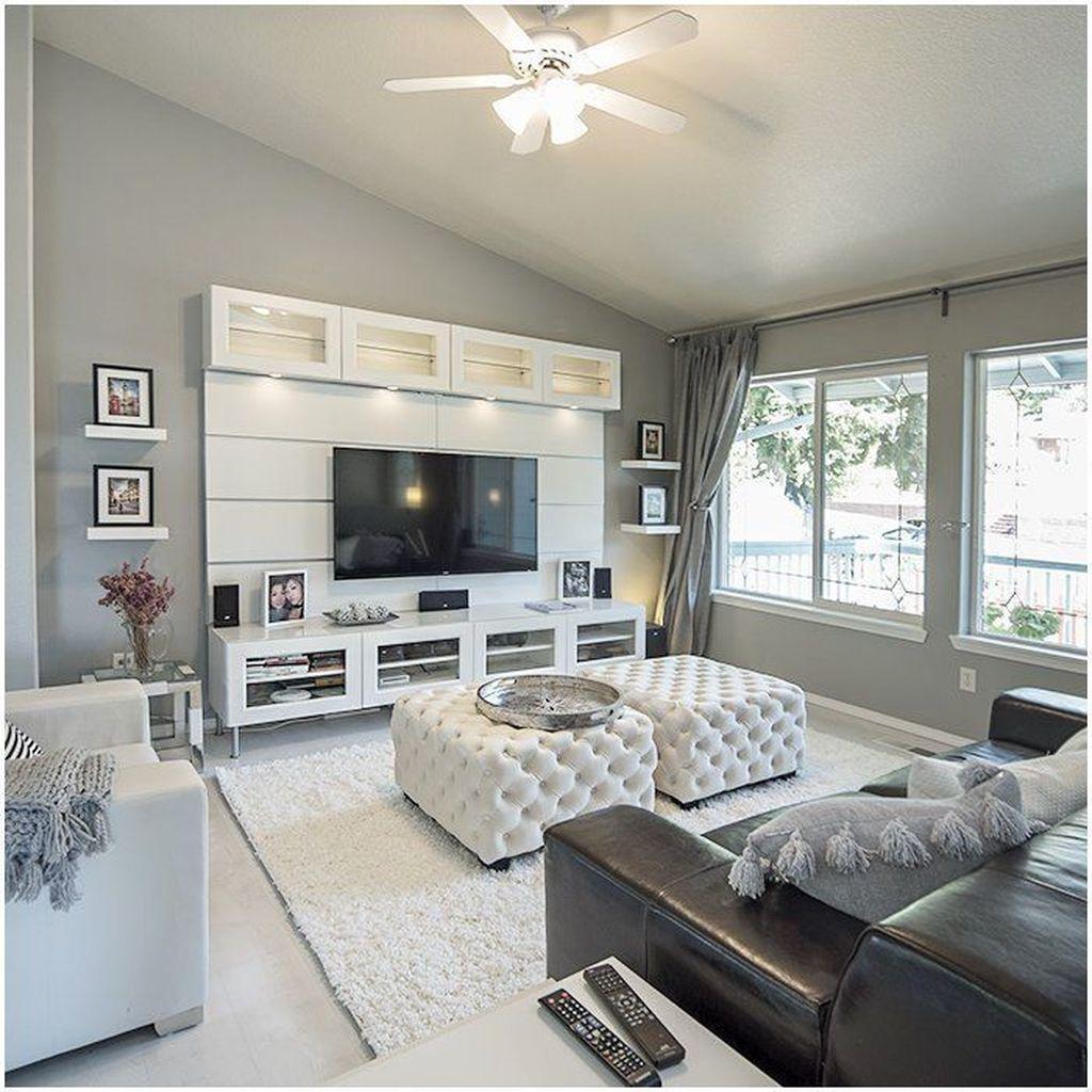 Gorgeous Basement Living Room Ideas You Definitely Like 15