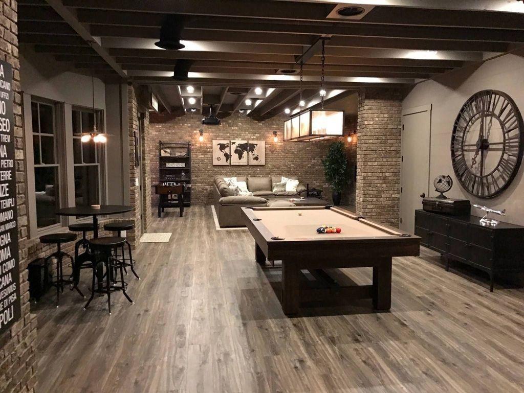 Gorgeous Basement Living Room Ideas You Definitely Like 24