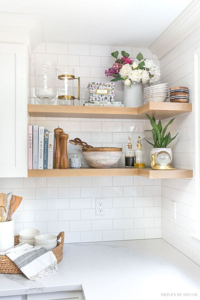 Gorgeous Kitchen Shelves Ideas You Must Have 22