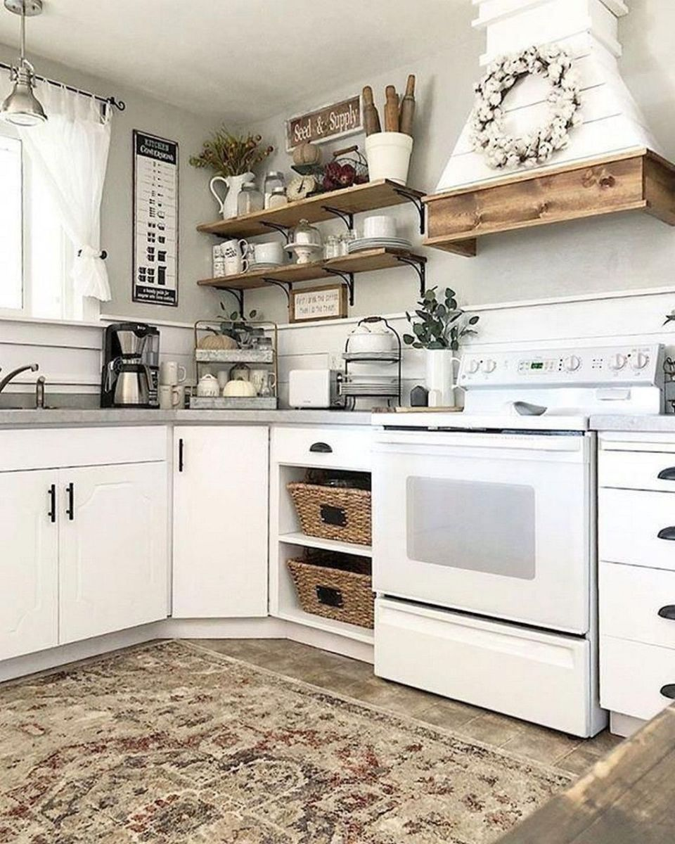 Gorgeous Kitchen Shelves Ideas You Must Have 23