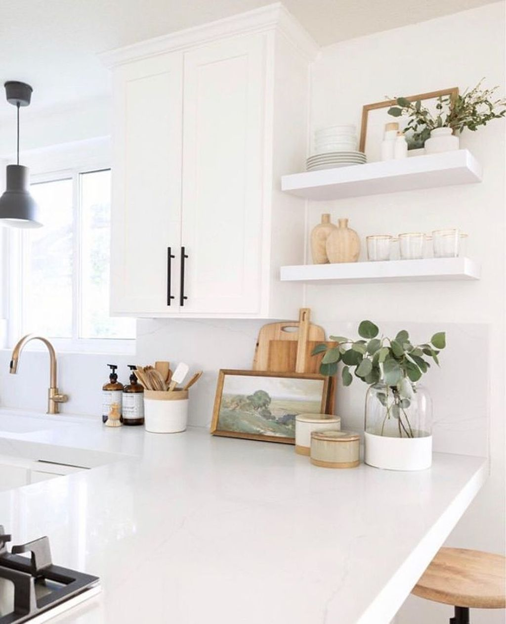Gorgeous Kitchen Shelves Ideas You Must Have 26