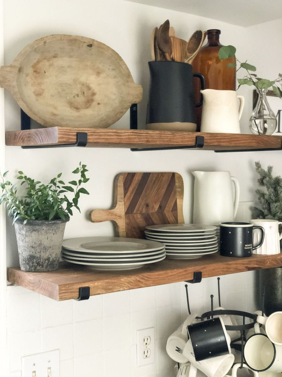 Gorgeous Kitchen Shelves Ideas You Must Have 29