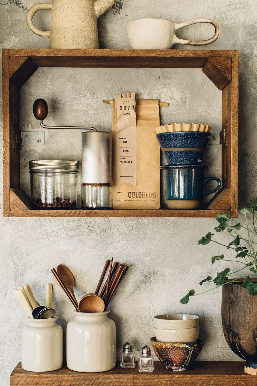 Gorgeous Kitchen Shelves Ideas You Must Have 30