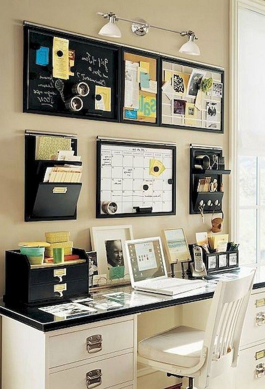 Inspiring Small Office Ideas For Small Space 03